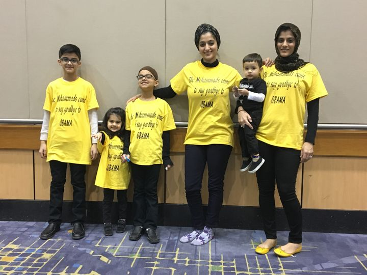 The Mohammad family from Bolingbrook, Illinois.