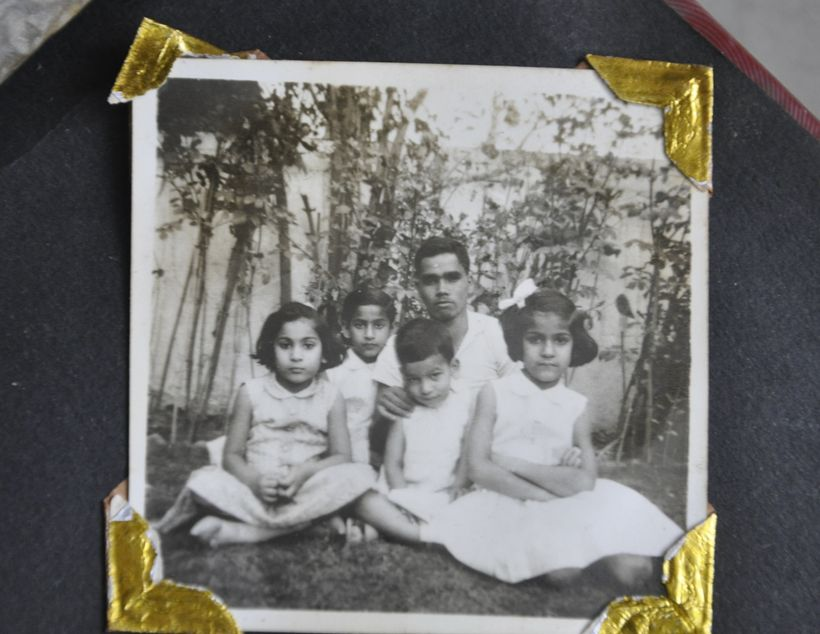 Bakshi Bhai with my siblings and I