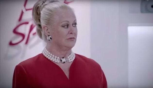 Kim Woodburn as we are used to seeing