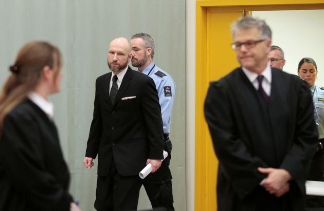 Breivik sued the government last year claiming being kept insolitary confinement breached his human
