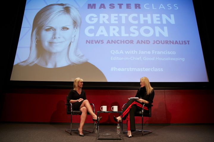 Gretchen Carlson is interviewed by Good Housekeeping Editor-in-Chief Jane Francisco