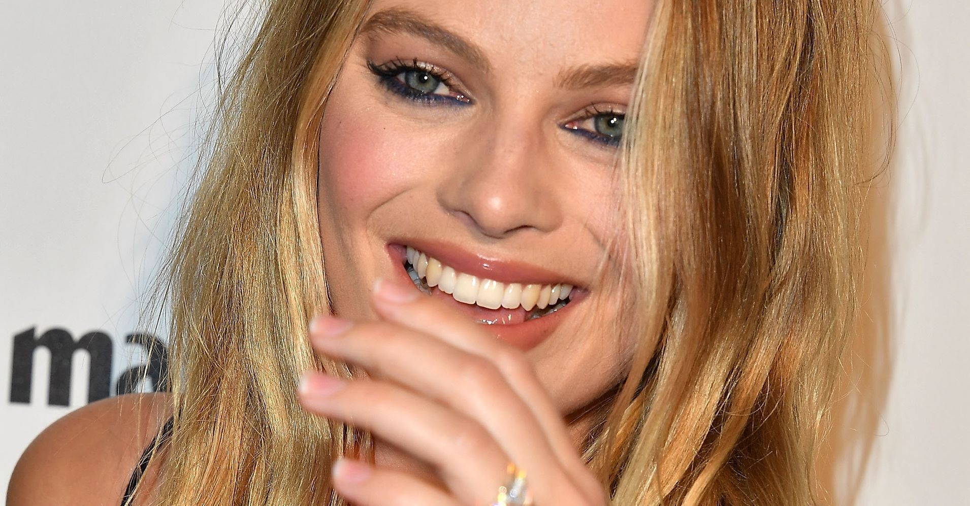 Margot Robbie Flashes Her Gorgeous Wedding Rings On The