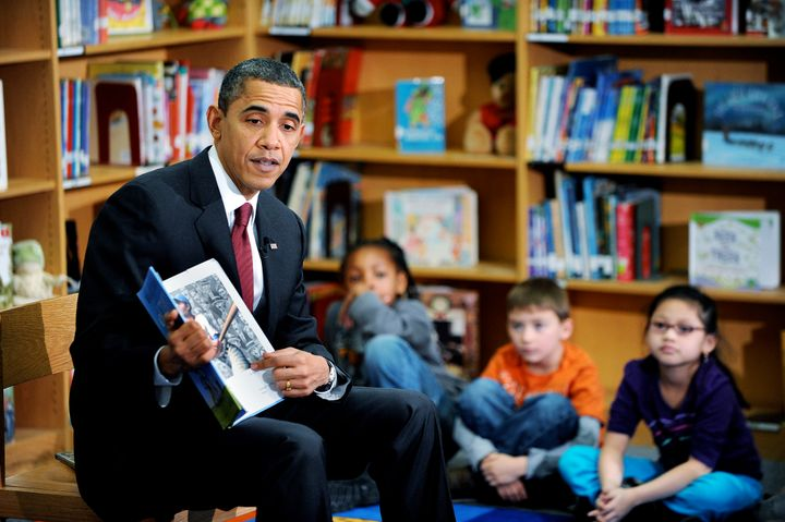 Reading a picture book to elementary schoolers is a presidential tradition -- but President Obama&nbsp;<i>wrote</i> that bo