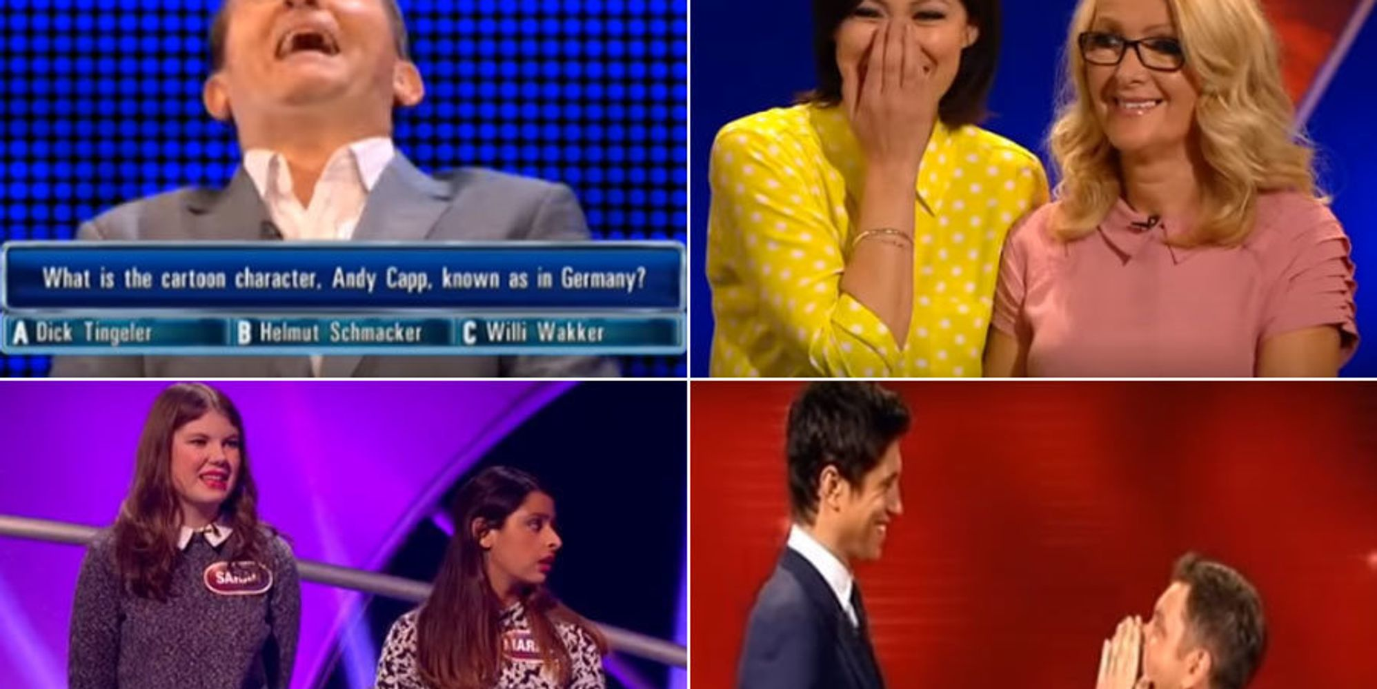 From Giggling Fits On 'The Chase' To Unbelievable ...