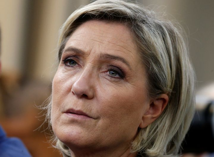 French National Front (FN) leader Marine Le Pen attends a FN political debate in Paris, France, Nov. 8, 2016.