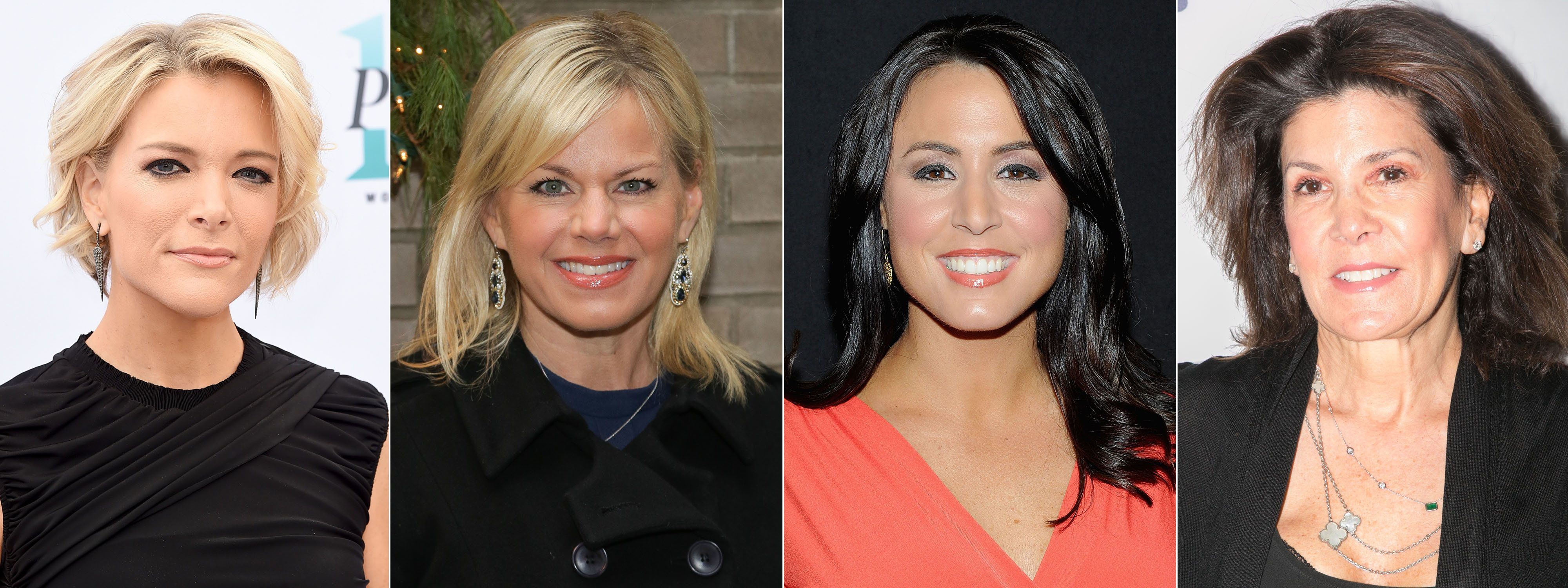 Megyn Kelly, Gretchen Carlson, Andrea Tantaros and Shelley Ross have all accused Roger Ailes of sexual harassment.