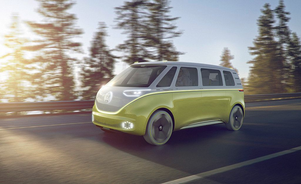 The VW Camper Van Is Back, And It's