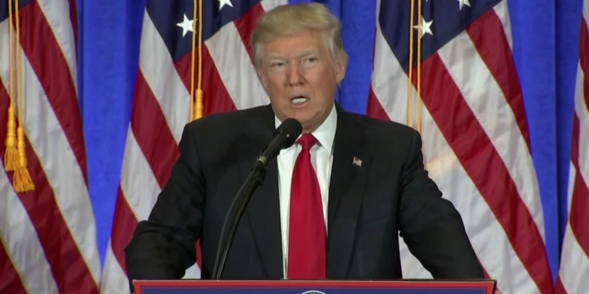 Donald Trump Press Conference Today: President-Elect Suggests Intelligence Agencies Involved In Report Leak