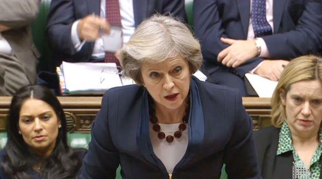 Theresa May in