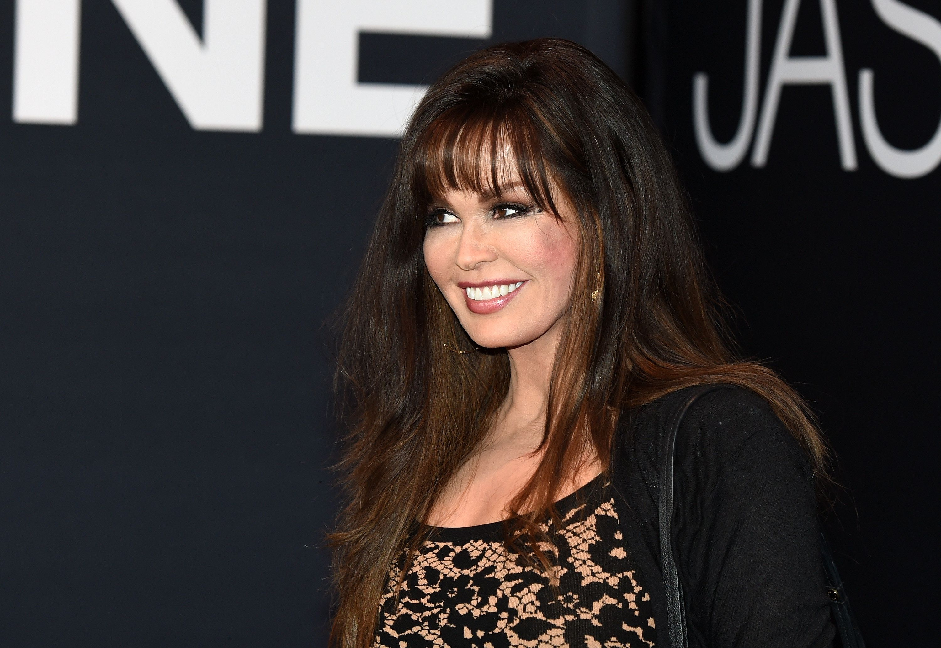 LAS VEGAS, NV - JULY 18:  Entertainer Marie Osmond attends the premiere of Universal Pictures' 'Jason Bourne' at The Colosseum at Caesars Palace on July 18, 2016 in Las Vegas, Nevada.  (Photo by Ethan Miller/Getty Images)