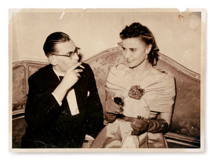 <em>Ken and Hazel.</em> Undated vintage photograph, circa 1950