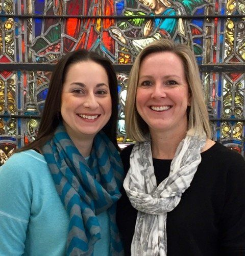 Maria Swearingen, left, and Sally Sarratt, right, will start as senior co-pastors of Calvary Baptist Church on Feb. 26.