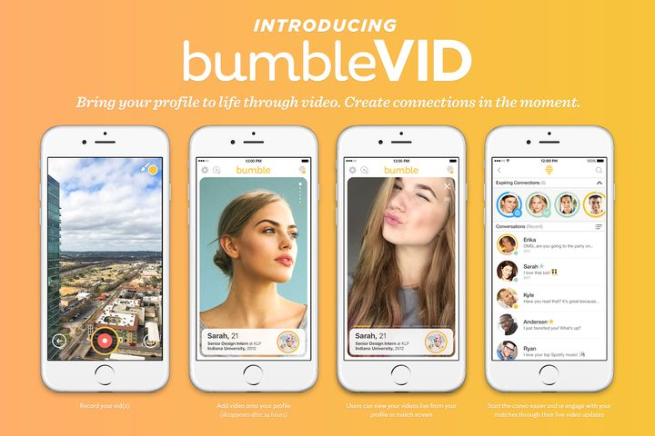 It's like Snapchat, but for dating.