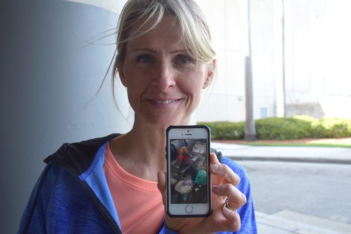 After the Fort Lauderdale airport shooting, Kim Lariviere was on the lookout for the teddy bear her daughter left behind.
