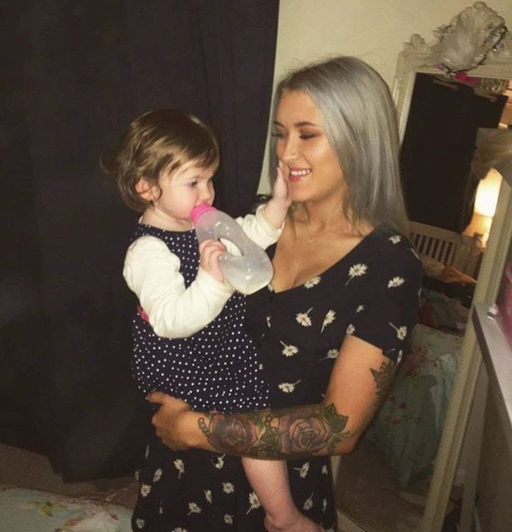 Gylisa Jayne has a 1-and-a-half-year-old daughter named Lily.