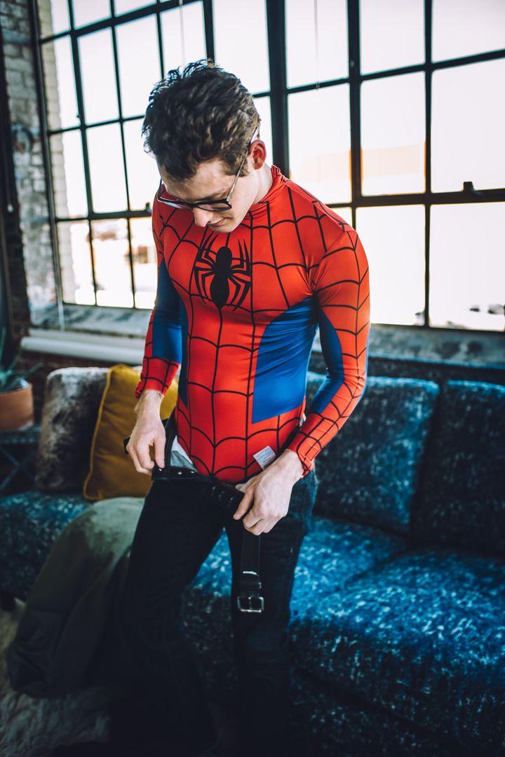 Sexy Spider-Man Boudoir Shoot Will Get Your Spidey Sense