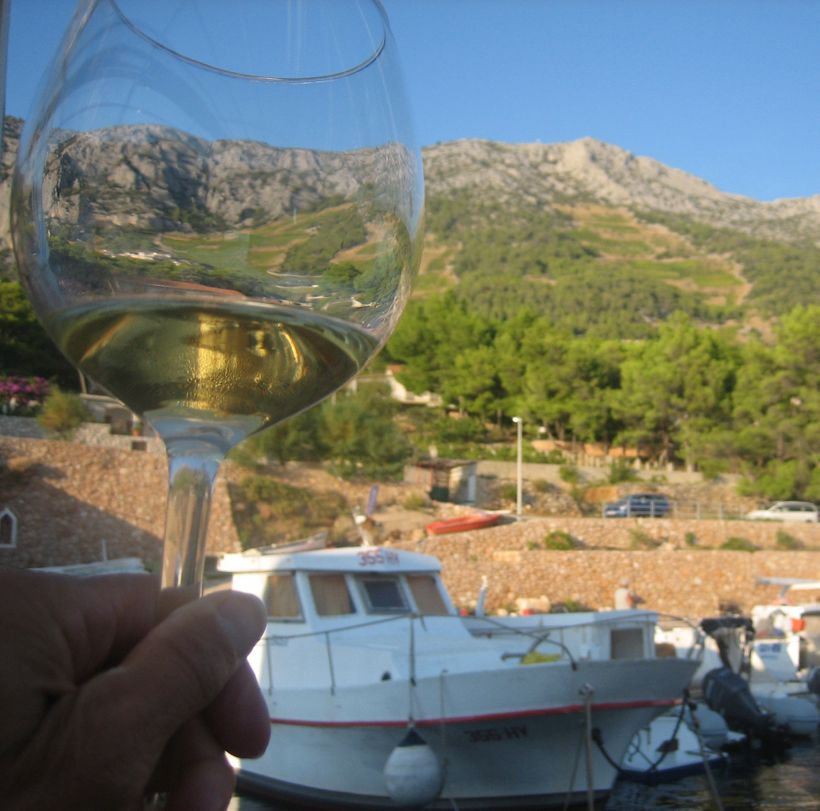 A view vineyards - Zlatan Otok Winery, Hvar