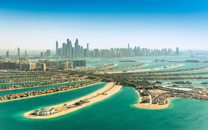 Can you picture yourself frolicking around Dubai? Because we definitely can.