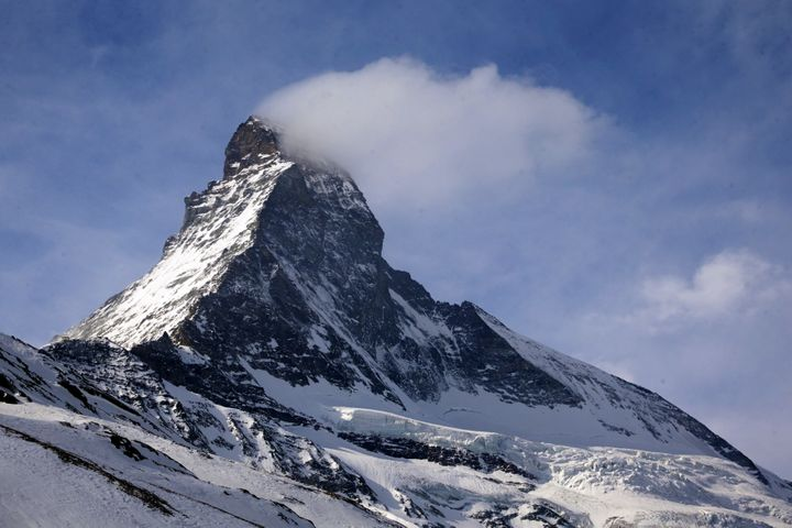The Matterhorn mountain is pictured in Zermatt, Switzerland, March 15, 2015.