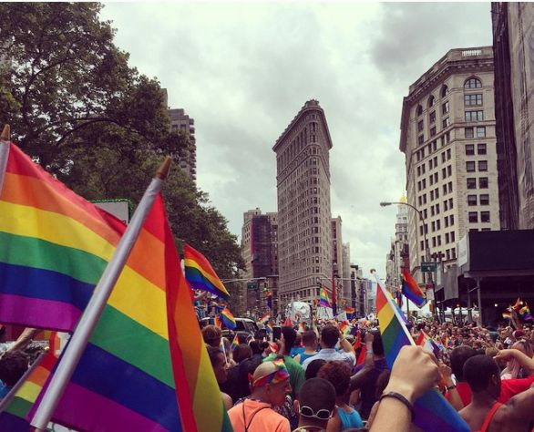NYC Pride March, June 28, 2015