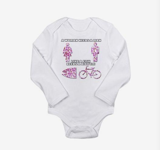 57de5805 37 Feminist Onesies For Baby Girls And Boys | HuffPost Life