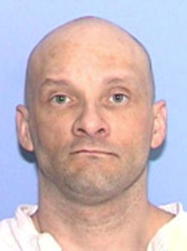 Convicted killer Christopher Wilkins, 48, was pronounced dead at 6:29 p.m. in Huntsville, Texas.