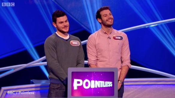 Finalists Mike and Dom knew their