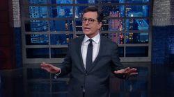 Stephen Colbert Addresses 'Golden Shower' Claims Like A