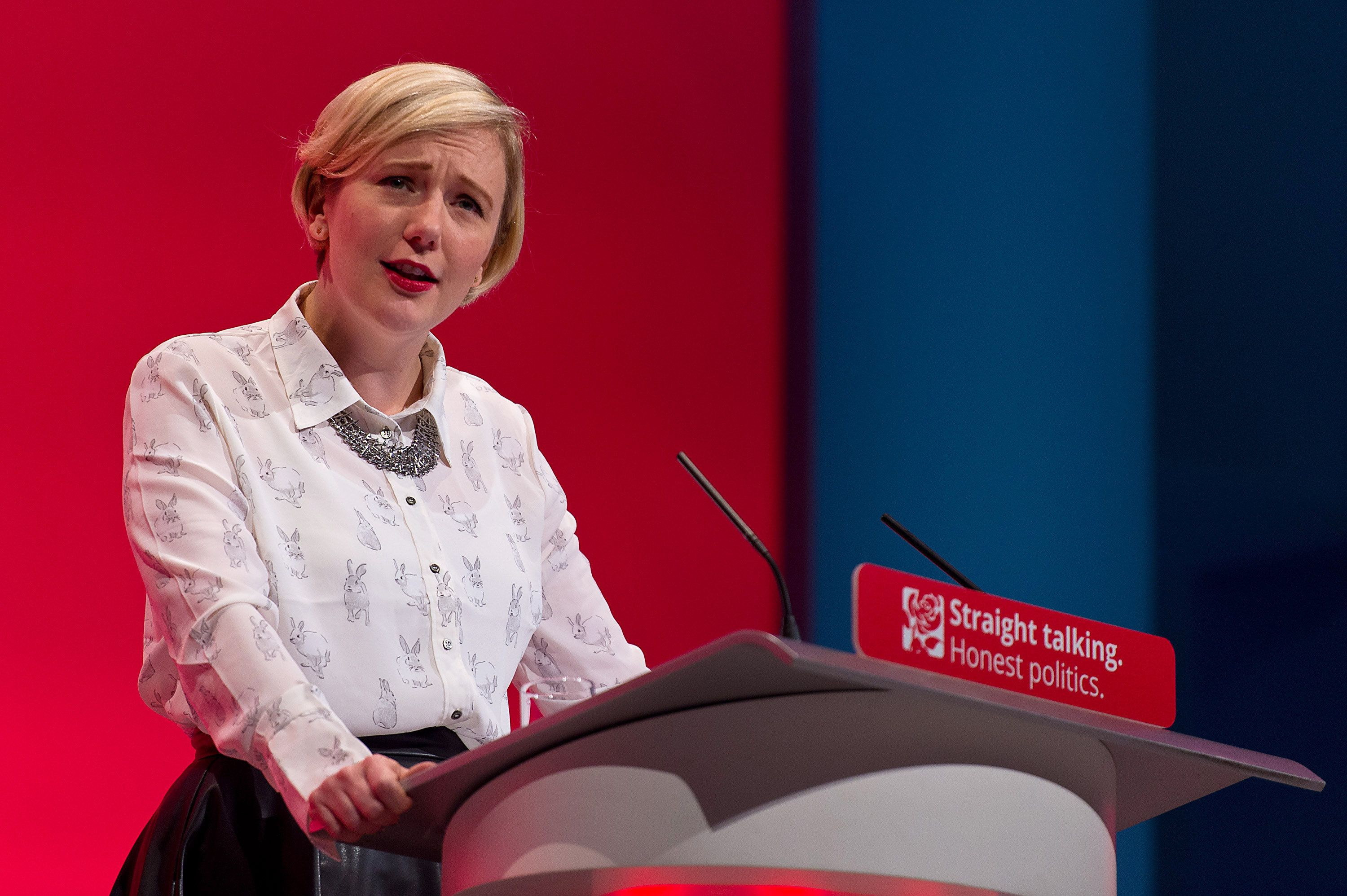 Stella Creasy is the leader of the all-female group of MPs which has tabled the