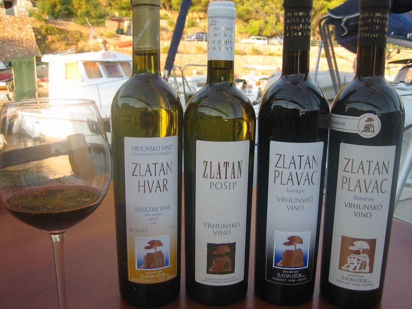 Zlatan Otok Winery, Hvar