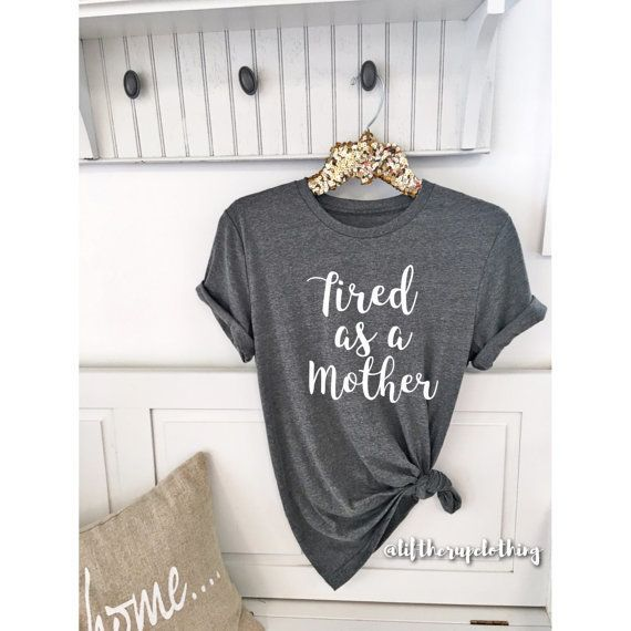 65f14b5d1453ef 23 Funny Shirts For The New Mom In Your Life