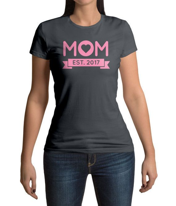 "<a href=""https://www.etsy.com/listing/504068733/new-mom-shirt-mom-est-2017-new-mom-gift?ga_order=most_relevant&ga_search_"