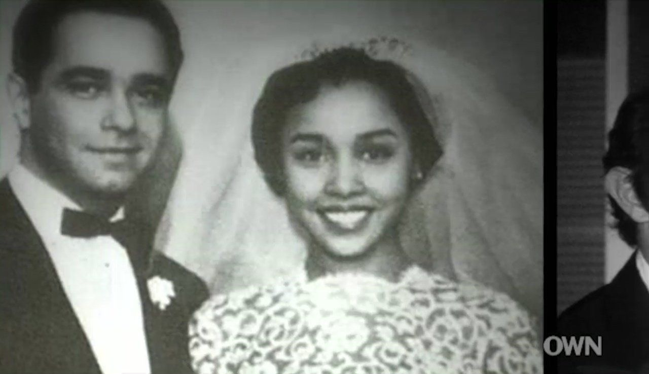 "Diahann Carroll met her first husband, Monte Kay, when he worked as a casting director for ""House of Flowers."" The coupl"