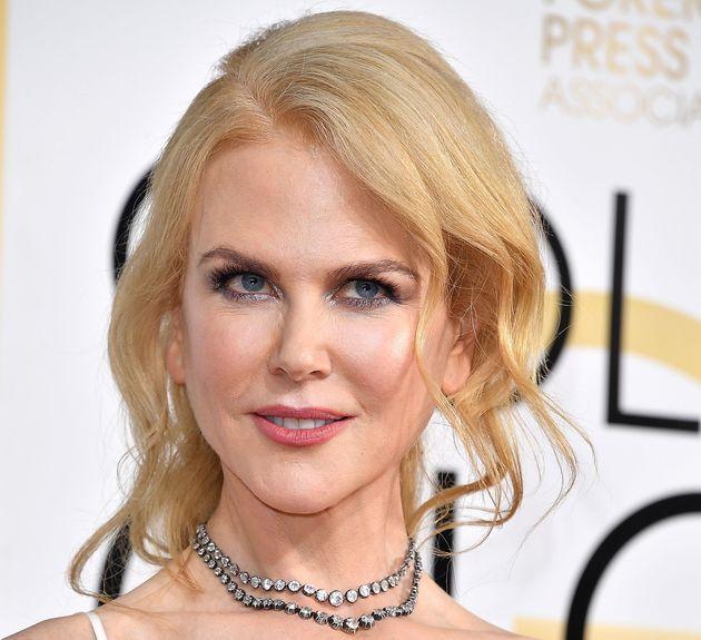 Nicole Kidmanarrives at the 74th Annual Golden Globe