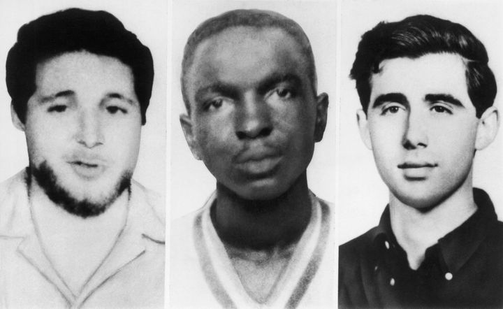 Michael Schwerner, James Chaney and Andrew Goodman.