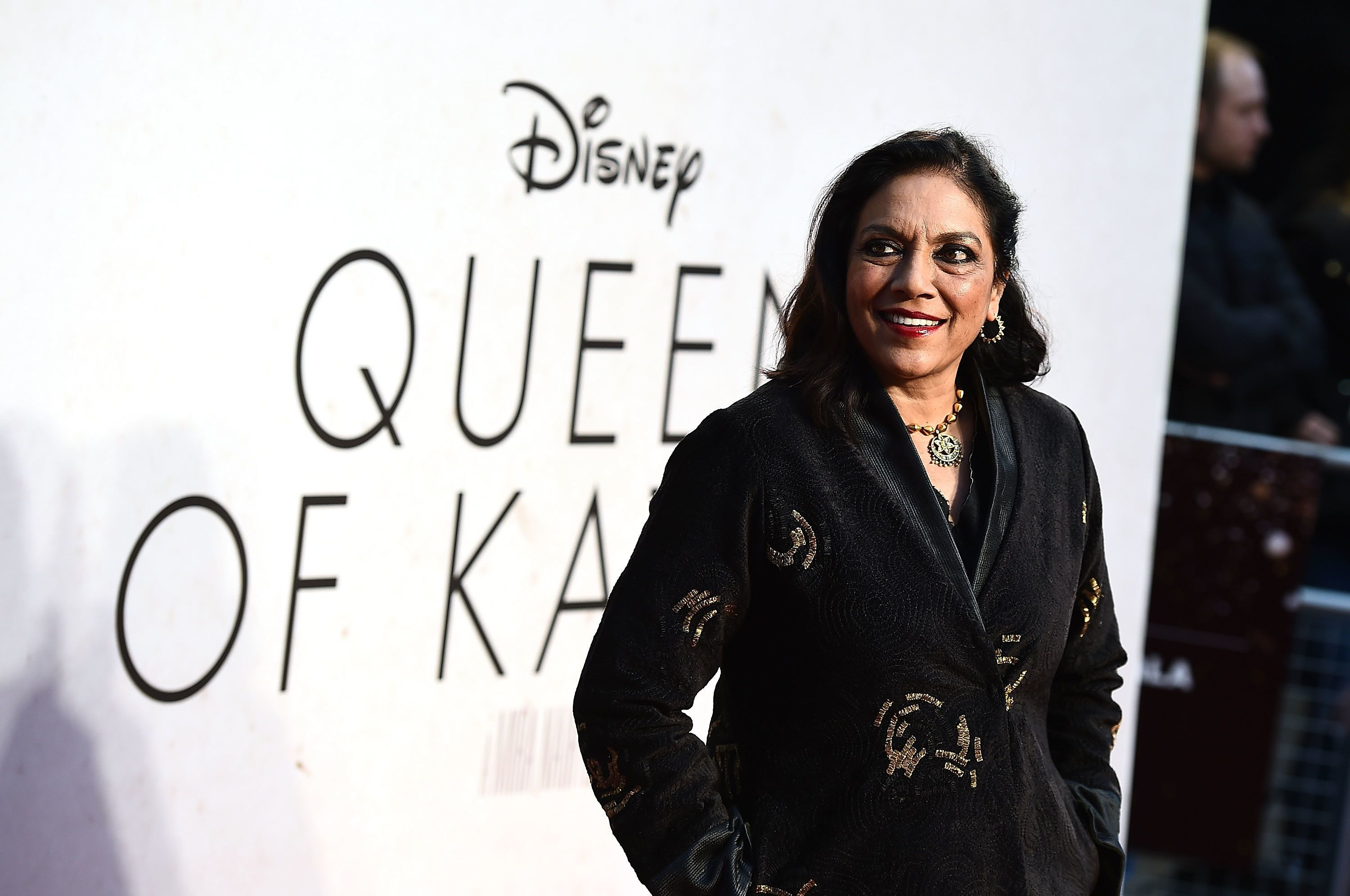 "Mira Nair, director of ""Queen of Katwe,"" during the film's Gala Screening at the 60th BFI London Film Festival."