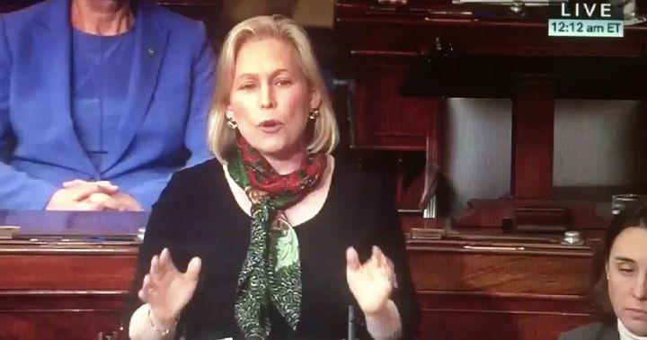 Sen. Kirsten Gillibrand spoke nothing but the truth on the Senate floor early Thursday morning.