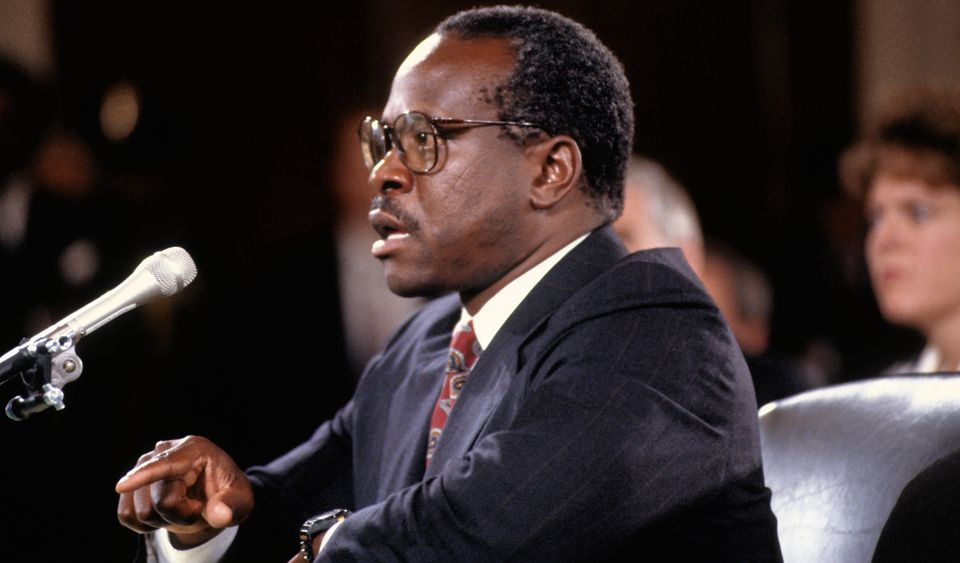 Clarence Thomas was allowed to testify both before and after Anita