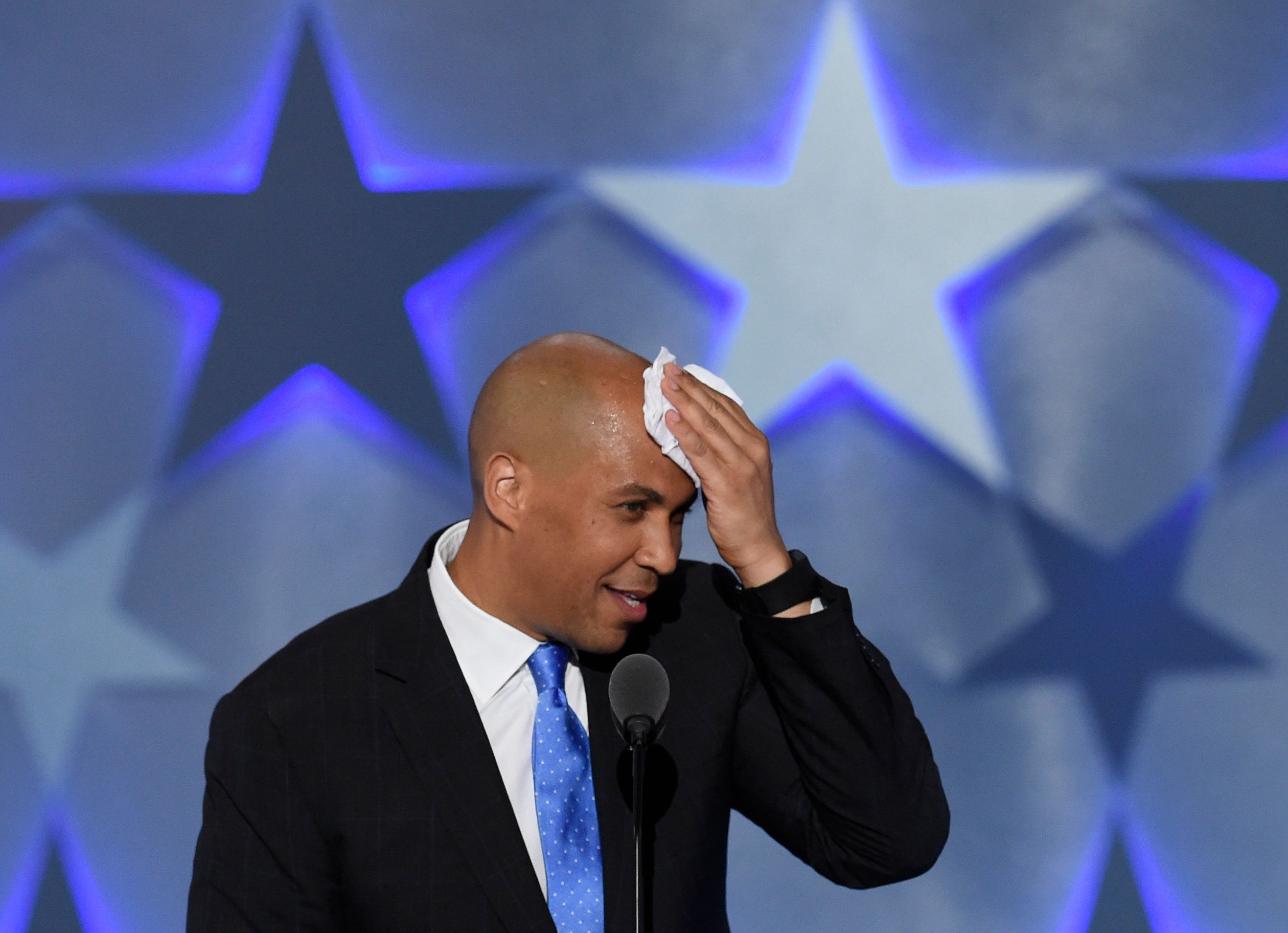 Sen. Cory Booker (D-N.J.) voted against a budget resolution that would have allowed the U.S. to import prescription drugs fro