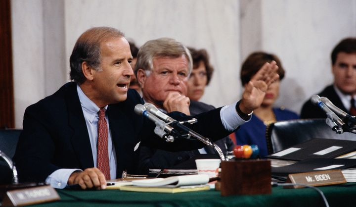 Joe Biden was the chair of the Senate Judiciary Committee during Clarence Thomas' Supreme Court nomination in 1991.