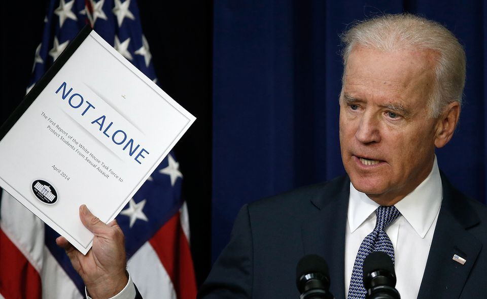 Joe Biden made combatting violence against women a central part of his time as vice