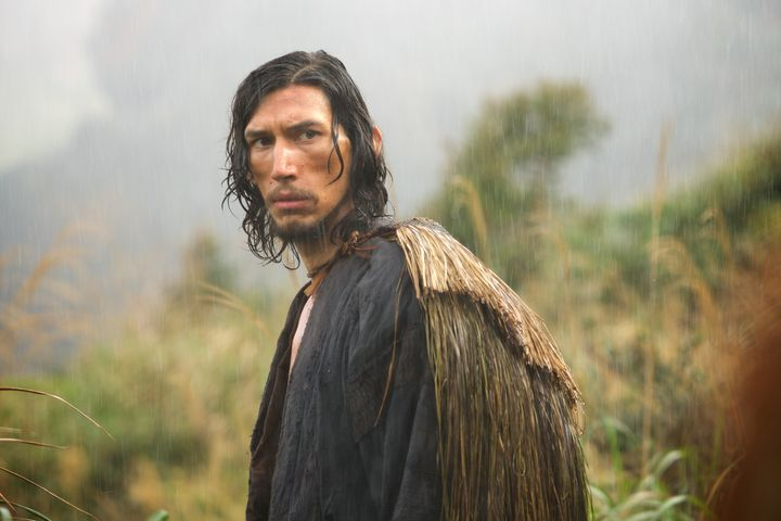 "Adam Driver plays a priest enduring a violently anti-Christian region of Japan in ""Silence."""