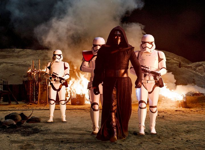 "Adam Driver plays Kylo Ren in ""Star Wars: Episode VII - The Force Awakens."" You already knew that."