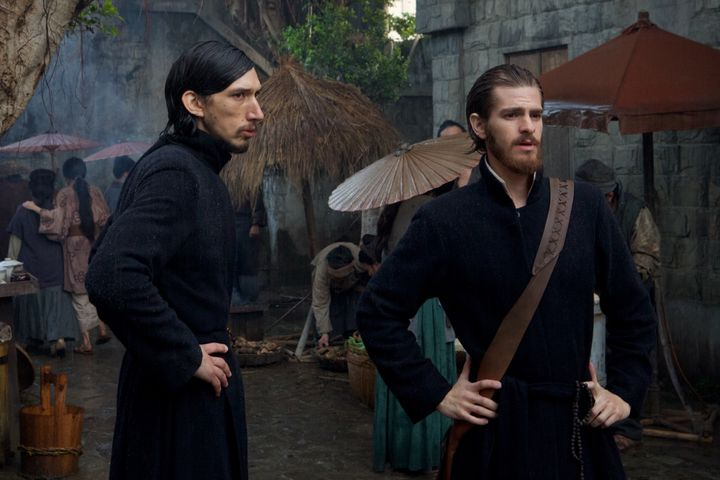 "Adam Driver and Andrew Garfield went on a silent retreat to prepare for ""Silence."""