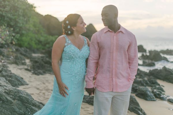 """<i>Custom gown by <a href=""""http://www.dreamdressesbypmn.com/"""" target=""""_blank"""">Dream Dresses By PMN</a></i>"""