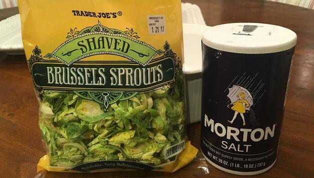 Trader Joe'smakes pre-halved Brussels