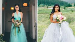 26 Dreamy Blue Wedding Dresses That Stand Out In A Sea Of