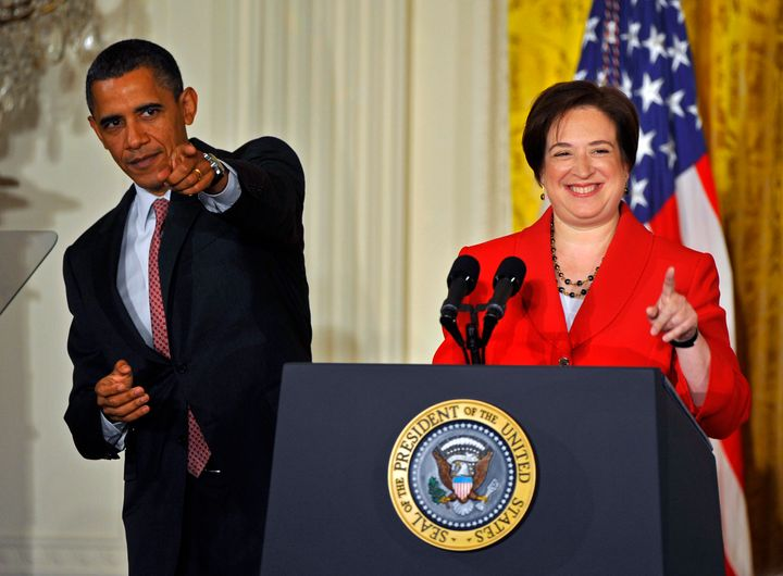 "Before Obama nominated Elena Kagan to the Supreme Court, a fellow justice said, ""I hope he sends us someone smart. ... I"
