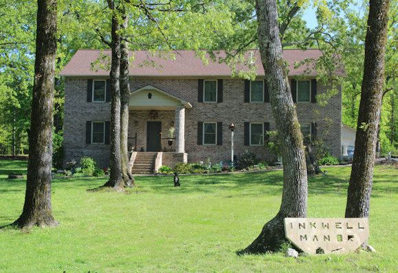 """Inkwell Manor, the Brookins' self-built home."