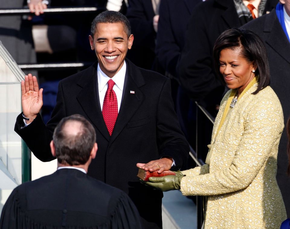 For President Barack Obama's first swearing-in, Chief Justice John Roberts infamously messed up the wording of the oath of&nb